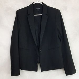 Ann Taylor Traditional Black Blazer Suit Jacket